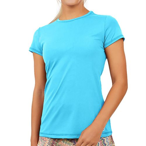Sofibella UV Colors Short Sleeve Top Plus Size - Baby Boy 7012 BBYP