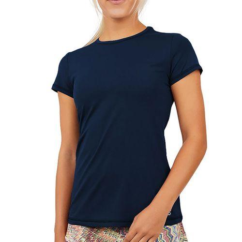 Sofibella UV Short Sleeve Top Womens Navy 7012 NVY