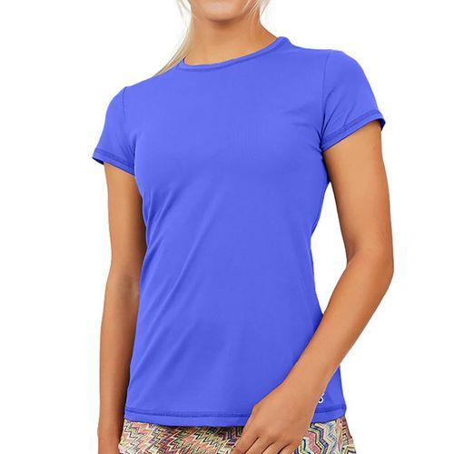 Sofibella UV Short Sleeve Top Womens Valley Blue 7012 VBL