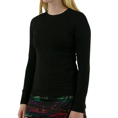 Sofibella UV Long Sleeve Top Womens Black 7013 BLK