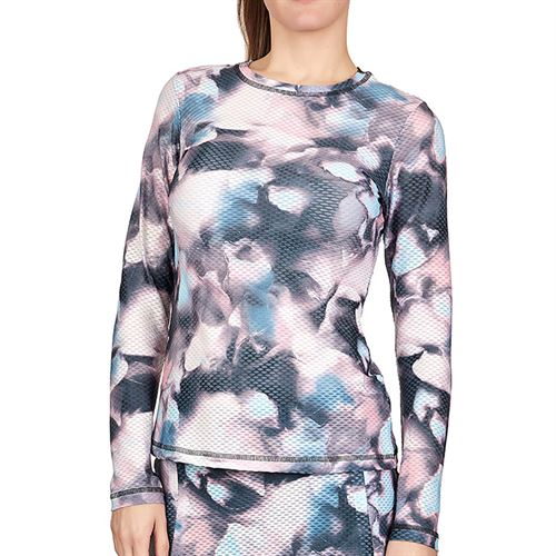 Sofibella Air Flow Long Sleeve Top Plus Size Womens Abby 7013W ABYP