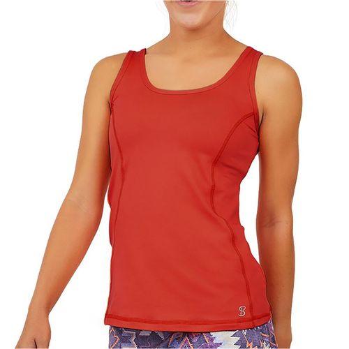 Sofibella UV X Tank Womens Berry Red 7015 BER