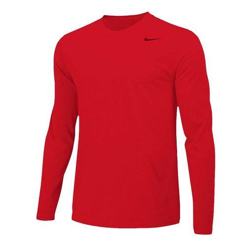 Nike Team Legend Long Sleeve - University Red/Cool Grey