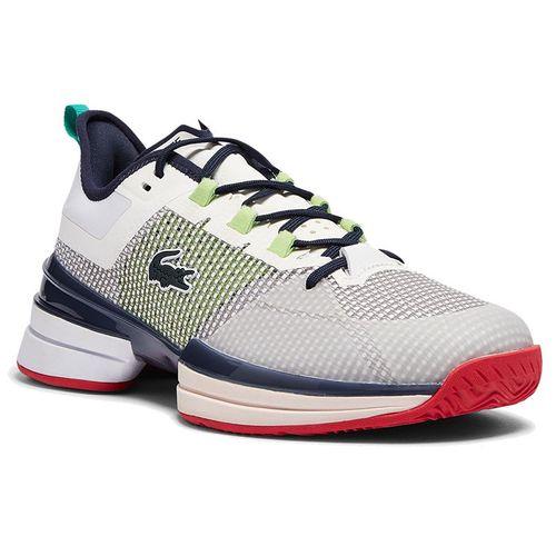 Lacoste AG LT 21 Ultra Womens Tennis Shoe White/Blue/Red 741SFA0094 080