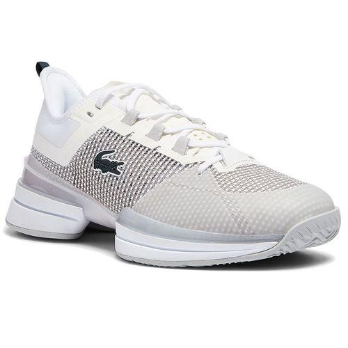 Lacoste AG LT 21 Ultra Womens Tennis Shoe White/Silver 741SFA0094 14X
