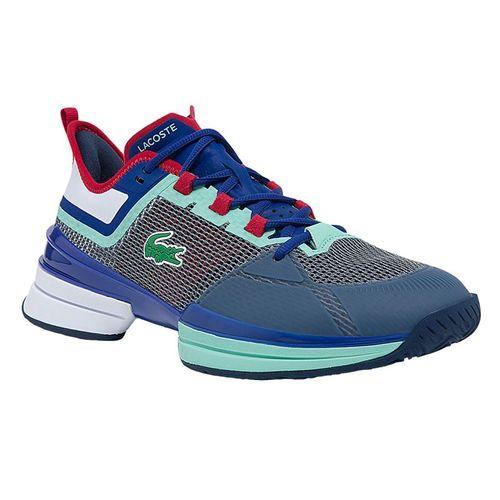 Lacoste AG LT 21 Ultra Mens Tennis Shoe White/Blue/Red 742SMA0076 1T3