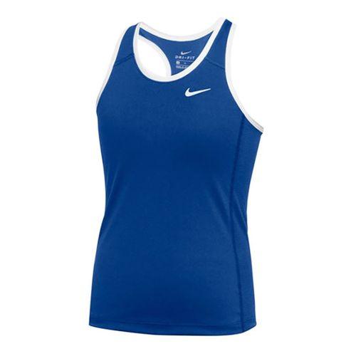 Nike Dry Tank Womens Royal/White 835962 494