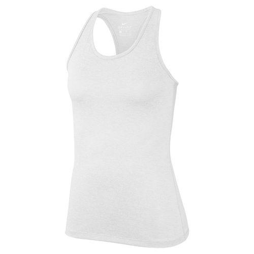 Nike Dry Training Tank Womens White/Heather/Black 889073 101