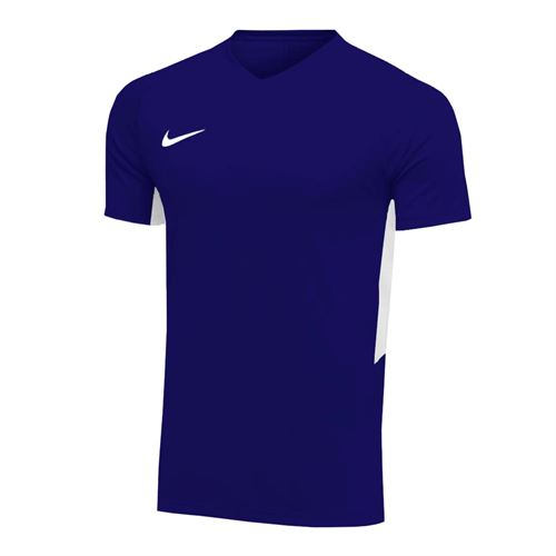 Nike Dry Tiempo Premier Short Sleeve Jersey - College Navy/White