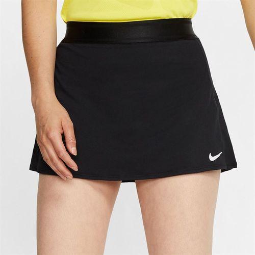 Nike Court Dri Fit Skirt Womens Black 939320 013