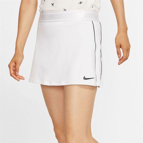 Nike Court Dri Fit Skirt Womens White/Black 939320 102