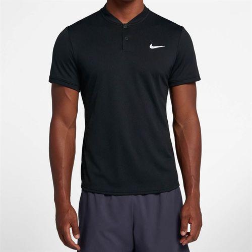 Nike Court Dry Blade Polo - Black/White
