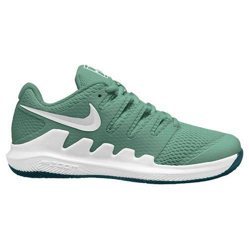 Nike Junior Court Vapor X Tennis Shoe Healing Jade/White/Dark Atomic Teal AR8851 330