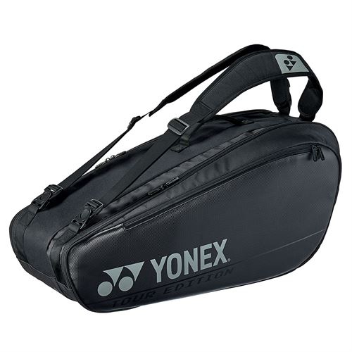 Yonex Pro Racquet 6 Pack Tennis Bag - Black
