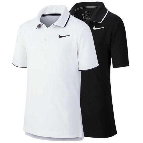 Nike Boys Court Dri Fit Polo Shirt BW