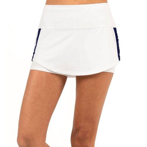 Lucky in Love Tahiti Macrame Skirt - White