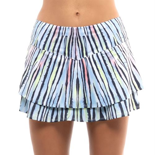 Lucky in Love Going Wild Flip Skirt Womens Graystone CB495 E37475