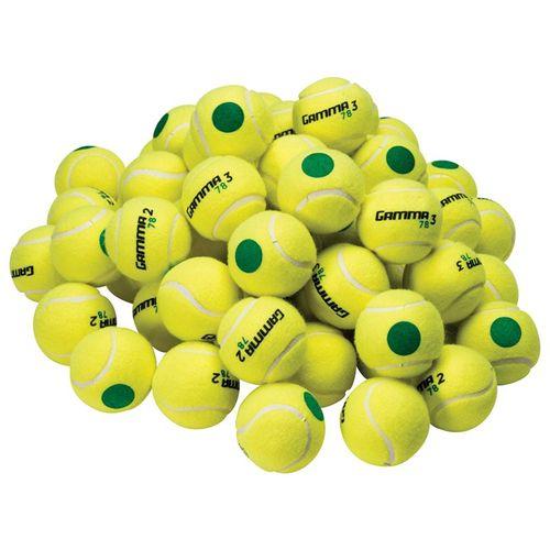 Gamma 78 Green Dot Tennis Ball 60 Ball Bag