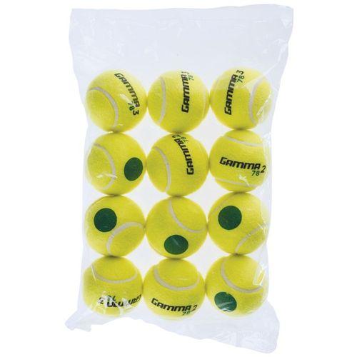 Gamma 78 Green Dot Tennis Balls 12 Pack