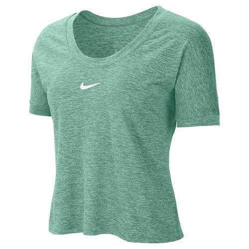 Nike Court Dri Fit Top Womens Healing Jade/White CI9316 316