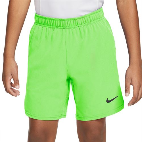 Nike Court Boys Flex Ace Short Lime Glow/Black/White CI9409 345