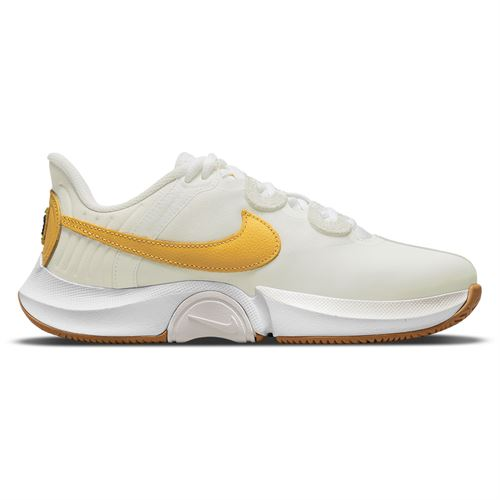 Nike Court Air Zoom GP Turbo Womens Tennis Shoe Summit White/University Gold/White/Wheat CK7580 155
