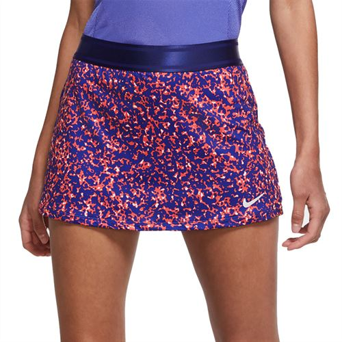 Nike Court Dri Fit Skirt Womens Regency Purple/White CK8216 590