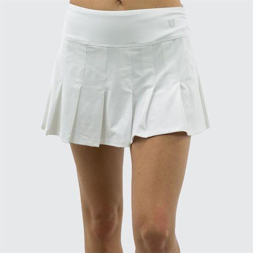 Eleven 13 Inch Flutter Skirt - White