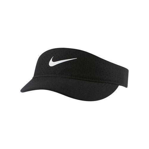 Nike Court Womens Advantage Visor - Black/White