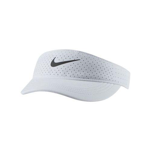 Nike Court Womens Advantage Visor - White/Black