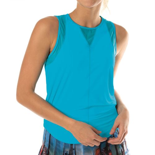Lucky in Love L UV Protection Chill Out Tank Womens Breeze CT661 422