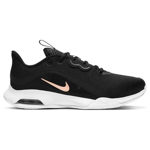 Nike Court Air Max Volley Womens Tennis Shoe Black/Metallic Red Bronze/White CU4275 002