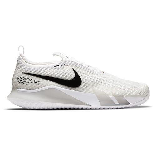 Nike Court React Vapor NXT Mens Tennis Shoe White/Black/Grey Fog CV0724 101
