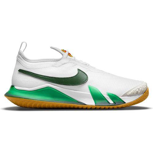 Nike Court React Vapor NXT Womens Tennis Shoe White/Gorge Green/Summit White/Wheat CV0742 114