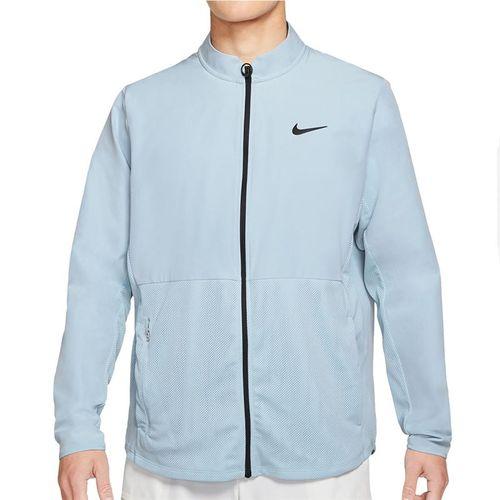 Nike Court Hyper Adapt Advantage Full Zip Jacket Mens Lt Armory Blue/Black CV2798 440