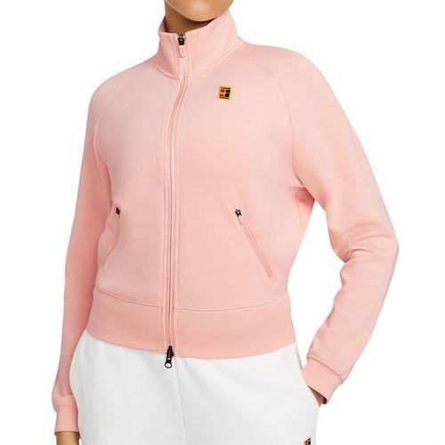 Nike Court Full Zip Jacket Womens Arctic Orange/Black CV4701 800