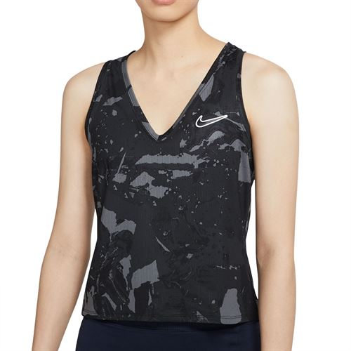 Nike Court Victory Tank Womens Black/White CV4742 010