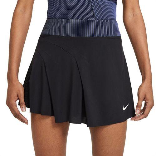 Nike Court Dri FIT ADV Slam Skirt Womens Black/White CV4861 010