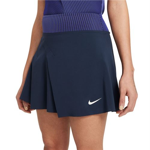 Nike Court Dri FIT ADV Slam Skirt Womens Obsidian/White CV4861 451