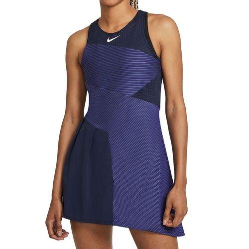 Nike Court Dri FIT ADV Slam Dress Womens Obsidian/White CV4865 451