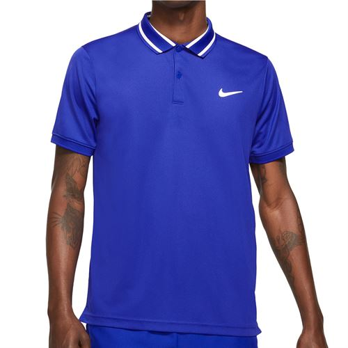 Nike Court Dry Victory Polo - Concord/White