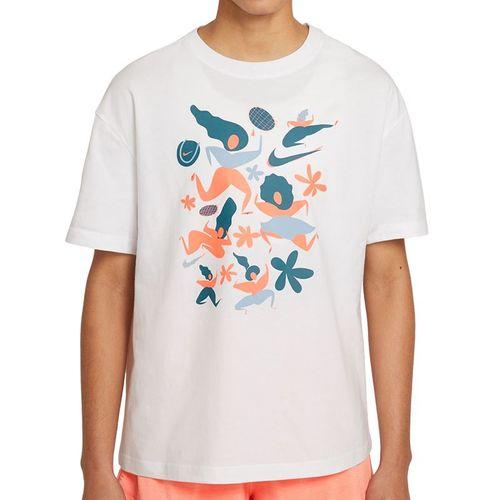 Nike Court Tee Shirt Womens White DC8928 100