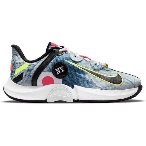 Nike Court Air Zoom GP Turbo Naomi Osaka Womens Tennis Shoe White/Black/Bright Crimson DC9164 100