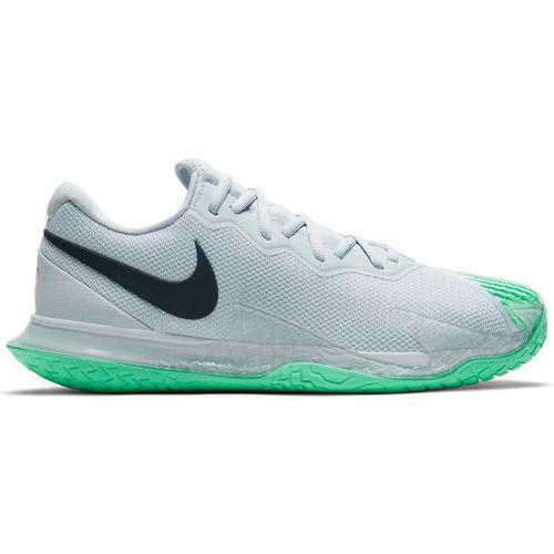 Nike Court Zoom Vapor cage 4 Rafa Mens Tennis Shoe Football Grey/Thunder Blue/White DD1579 024
