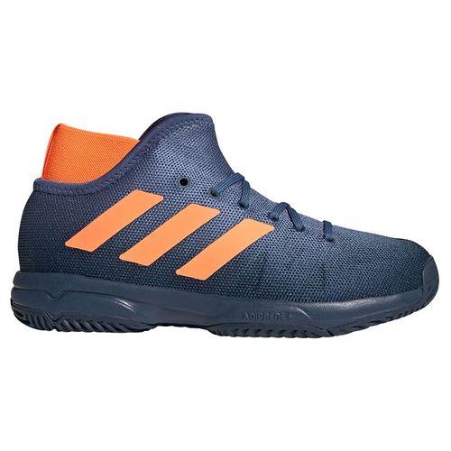 adidas Phenom Junior Tennis Shoe Crew Navy/Screaming Orange/Crew Blue FX1488