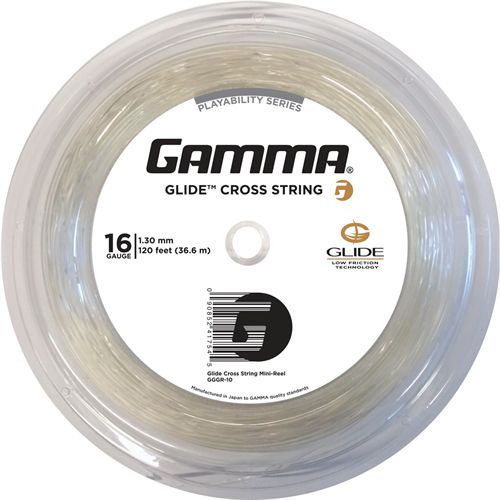 Gamma Glide Tennis String Mini Reel 120 16G