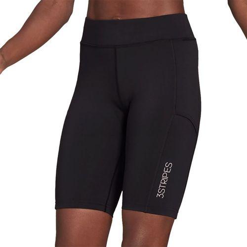 adidas Club Tight Short Womens Black/White GH7220