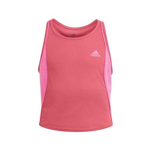 adidas Girls Pop Up Tank Wild Pink/Screaming Pink GK3012