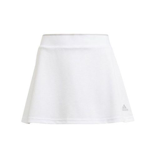 adidas Girls Club Skirt White/Grey Two GK8169