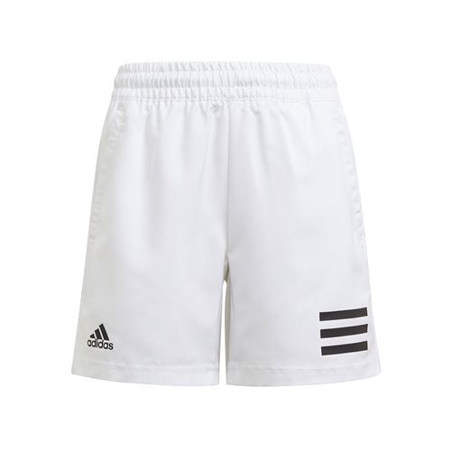 adidas Boys Club 3 Stripe Short White/Black GK8183